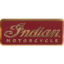 Indian Motorcycle Insigna cu logo-ul Indian Motorcycle rosie